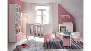 photo chambre bebe chambre bébé fille avec lit bicouleur blanc et glicerio so nuit