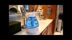 crane ultrasonic cool mist humidifier unboxing u0026 review youtube