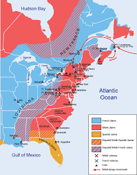 colonial america map gaining of political and economic institutions in colonial