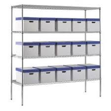 Garage Shelving Home Depot by 6 Tier 48 In X 18 In X 72 In Wire Shelving Unit In Black Home