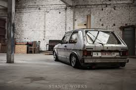 volkswagen golf 1980 as low as they come u2013 steven garreyn u0027s body dropped 1980 mk1