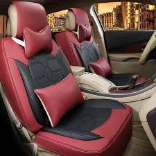 couvre siege cuir nouvelle housse de siège de voiture style top en cuir voiture