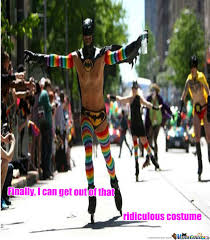 Gay Parade Meme - pride of batman by segafanalways meme center