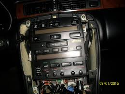 lexus sc300 2003 how to remove the radio from a 1999 lexus sc300 sc400 youtube