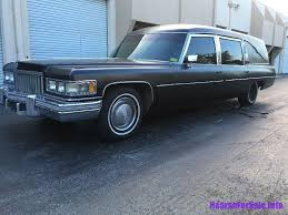 hearse for sale 1974 cadillac fleetwood hearse hearse for sale