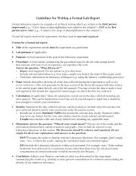 best photos of formal report format formal report format example