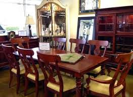ethan allen dining table and chairs used ethan allen dining room table createfullcircle com