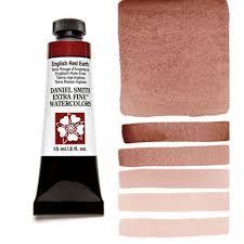 english red earth 15ml tube u2013 daniel smith extra fine watercolor