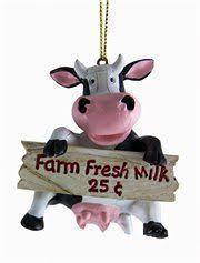 cowbell farm animal ornaments cowbell farm animal ornaments add
