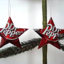 recycled dr pepper soda can aluminum from texastiedyeguy on etsy