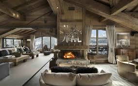 luxury ski chalets with pools