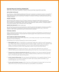 resume summary examples customer service resume example and free