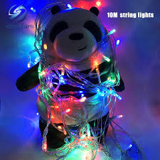rgb led christmas lights sale christmas light holiday sale outdoor 10m 100 led string choice red