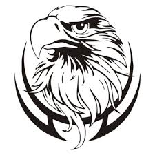eagle home decor removable vinyl new design eagle head branch wall stickers home