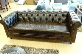 Chesterfield Sofa Used Cheap Leather Chesterfield Sofa Bed Vintage For Sale Used Sofas