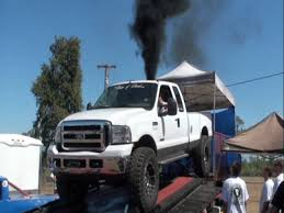 Ford Diesel Truck Horsepower - 6 0 ford powerstroke 443 rwhp dyno on 40s fuel only no corrections