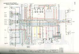 kz550 wiring diagram kawasaki kz wiring diagram of the electrical