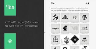 tao a modern u0026 responsive 3d wordpress portfolio theme with