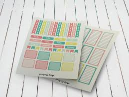 To Do Stickers June Planner Stickers Semigloss Design