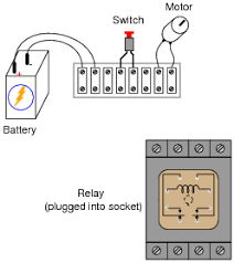 basic electromagnetic relays basic electricity worksheets