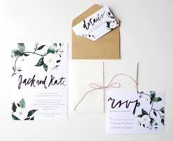 Calligraphy Wedding Invitations Printable Wedding Invitation Template Watercolor Custom