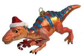 december diamonds glass ornament dinosaur orange blue home page