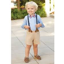 baby boy suspender set with bow tie for boys and baby