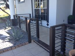 front porch railings made from electrical conduit front doors