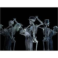 halloween dancing skeleton windowfx animated halloween christmas scene projector the