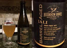review hidden cove barrel aged jali sour fruit ale u2013 beer snob squad