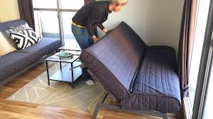 Sofa Bed Uratex Double How To Use 140 Sofa Bed Youtube