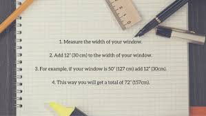 Width Of Curtains For Windows How To Measure Your Windows For Your New Curtains