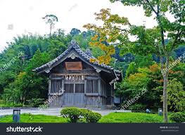 traditional japanese house rural area stock photo 334442762