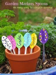 Garden Craft Terra Cotta Marker - mark your garden with playful sign on the rocks gift on etsy