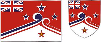White Cross On Red Flag Top 50 Most Artistic New Nz Flag Designs Legalise Cannabis Again