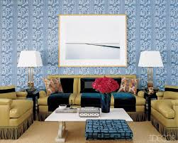 Wallpaper Designs For Home Interiors by 76 Best Wallpaper Rooms We Love Images On Pinterest Elle Decor
