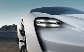 porsche concept cars porsche mission e concept electric car lamp detail pinterest