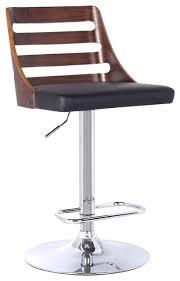storm modern adjustable swivel bar stool contemporary bar