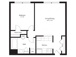 1 bedroom floor plans apartments for rent in silver md lenox park