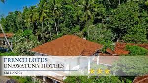 Hotel Flower Garden Unawatuna by French Lotus Unawatuna Hotels Sri Lanka Youtube
