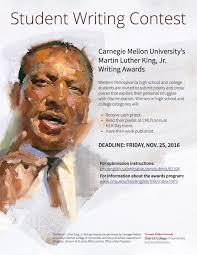 martin luther king dissertation mlk jr writing awards department of english carnegie mellon for more information