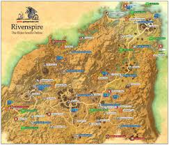 Elder Scrolls World Map by Rivenspire Daggerfall Covenant The Elder Scrolls Online Game