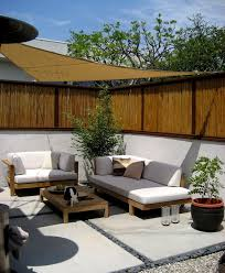 bamboo fencing mode los angeles asian landscape decorating ideas