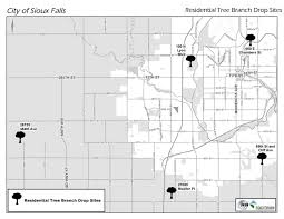 Sioux Falls Map Ice Storm 2013 City Of Sioux Falls