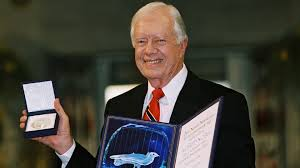jimmy carter wins nobel prize oct 11 2002 history com
