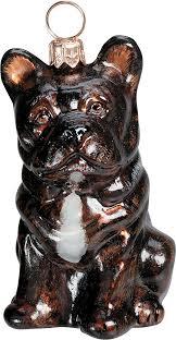 pet set french bulldog christmas dog ornament u2013 for the love of