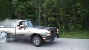 Ram Dodge Pickups 1981 93 1993 Dodge Ram D150 5 9l Burnout 3 Youtube