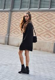 dresses with boots how to wear boots with dresses 20 style cinefog