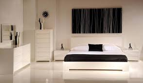 les chambres blanches stunning chambre blanc et noir contemporary design trends 2017
