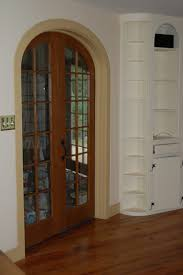 Interior French Doors Custom Made Interior Solid Wood Doors French Arch Top Panel